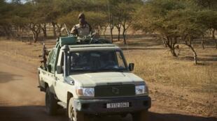 Sojojin Burkina Faso a yankin Soum