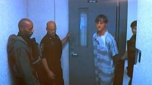 Dylann Roof, autor da chacina em Charleston, depois de preso (19/06/15).