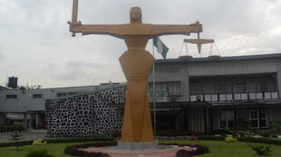 Front view of Nigerian High court Abuja