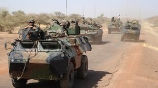 The French soldier was killed by an IED explosion that hit his armoured vehicle.