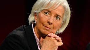 IMF Chief Christine Lagarde in Sydney, February 2014