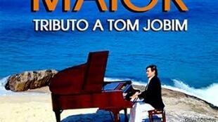 Cartaz do show com sucessos de Tom Jobim atualmente em cartaz em Buenos Aires.