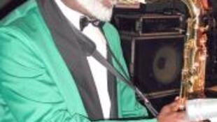 O músico cabo-verdiano Luis Morais