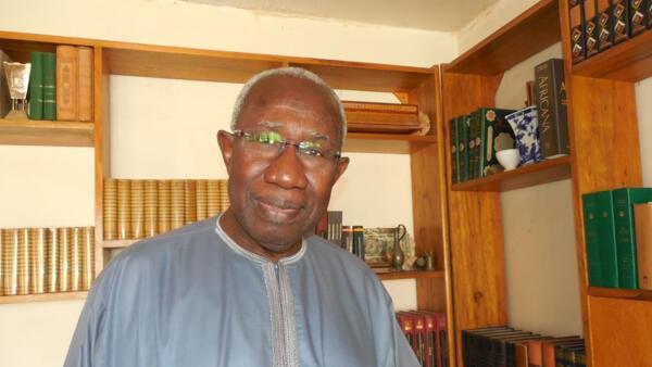Le professeur Iba der Thiam, historien  et auteur du livre « Le Sénégal dans la Guerre 14-18 ».