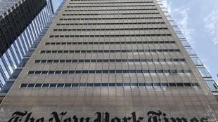 Le siège du New York Times.
