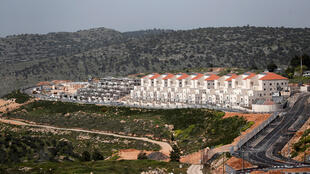 A general view shows the Israeli settlement of Beitar Illit in the Israeli-occupied West Bank April 7, 2019.