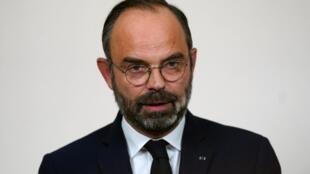 Le Premier ministre français Edouard Philippe, le 19 décembre 2019.