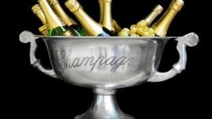 Rượu sâm banh của vùng Champagne, Pháp.