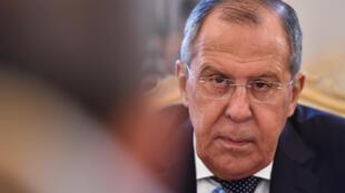Ngoại trưởng Nga Sergueï Lavrov.