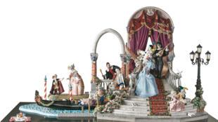 Vista general de 'Carnaval en Venecia'.