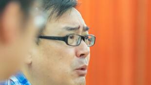 Nhà văn Dương Hằng Quân (Yang Hengjun) tại Tây Tạng, tháng 7/2016.