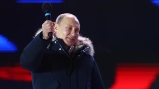 លោក Vladimir Poutine ប្រធានាធិបតីរុស្ស៊ី