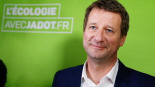 Green presidential candidate Yannick Jadot