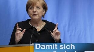 A chanceler alemã Angela Merkel.