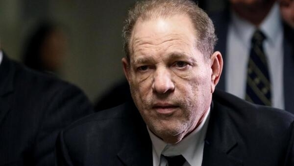 Film producer Harvey Weinstein departs Criminal Court on the first day of a sexual assault trial in the Manhattan borough of New York City, New York, U.S., January 6, 2020.