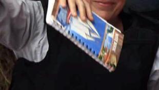 A jornalista americana Marie Colvin, morta durante violentos conflitos na Síria nesta quarta-feira.