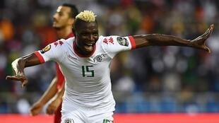 Burkina Faso striker Aristide Bancé came on as substitute and scored the first of his side's two goals in the quarter-final victory over Tunisia.