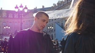 Russian performance artist Piotr Pavlenski.