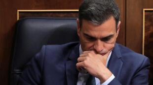 Le chef du gouvernement espagnol, le socialiste Pedro Sánchez.