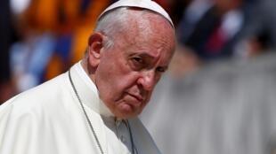 Le pape François au Vatican le 19 juin 2019.