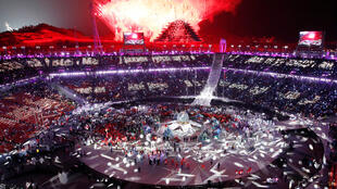 Cerimónia de encerramento dos Jogos Olímpicos de Inverno, que decorreram em PyeongChang na Coreia do Sul.