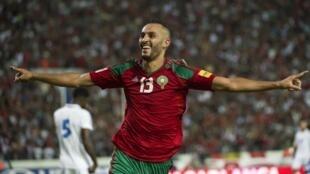 Le Marocain Khalid Boutaïb.