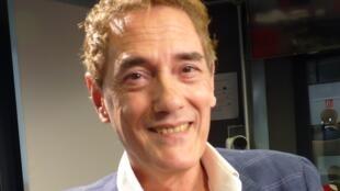 Jorge Otermin Aguirre en los estudios de RFI