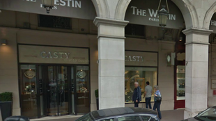 Casty jewellers, near Place Vendôme before the attack