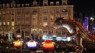 A parada da Nuit Blanche parisiense vai se inspirar nas festas do norte da França, com desfiles nas ruas da cidade.
