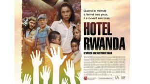Affiche du film «Hotel Rwanda».