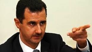 O presidente sírio Bachar al-Assad