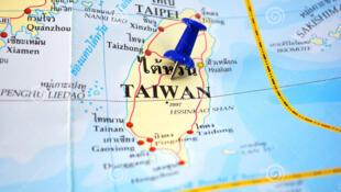 Image d'archive 台湾地图