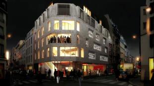 Le 360 Paris Music Factory a ouvert ses portes fin janvier 2020, dans le nord de Paris en France.
