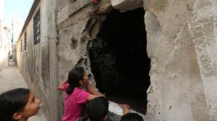 Instalações precárias provocaram a morte de três crianças em acampamento palestino de Gaza, nesta sexta-feira, 6 de maio de 2016.