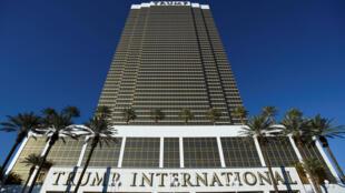 Tòa cao ốc Trump International tại Las Vegas.