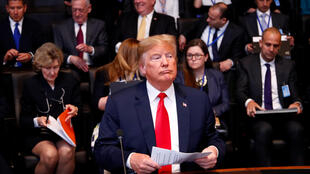 Tổng thống Mỹ Donald Trump tham dự hội nghị thượng đỉnh NATO tại Bruxelles ngày 11/07/2018.