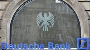 O presidente da Deutsche Bank, Josef Ackermann, abriu o encontro nesta segunda-feira.