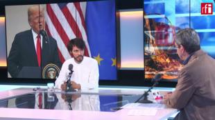 Raphaël Proust, periodista político del diario francés L'Opinion.