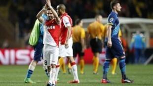 Mónaco ganhou o bilhete para os quartos-de-final da Liga milionária