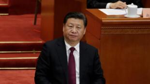 Chủ tịch Trung Quốc Tập Cận Bình. Ảnh chụp tại Bắc Kinh ngày 03/3/2017.