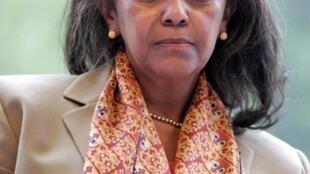 La présidente éthiopienne Sahle-Work Zewde