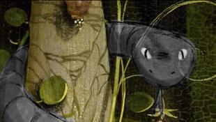 """Imagem do filme """"Sangro"""", curta-metragem brasileiro que disputa a mostra Perspectivas do Festival de Annecy em 2019."""