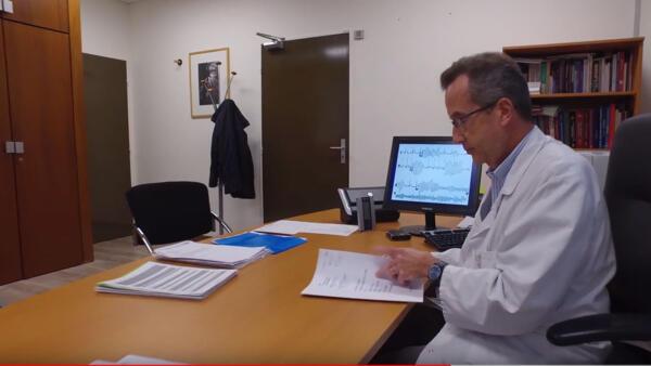 O cardiologista francês Antoine Leenhardt, do hospital Bichat
