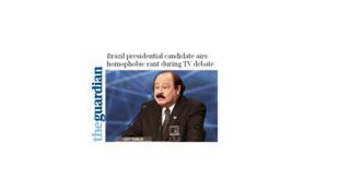 """Declaração de Levy Fidelix foi repercutida no """"The Guardian""""."""