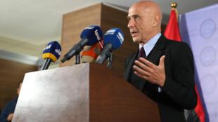 O ministro italiano do Interior, Marco Minniti, pede a ajuda da comunidade internacional