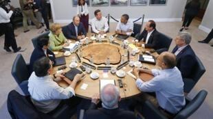 """Саммит """"Большой восьмерки"""", 18 июня 2013 год"""