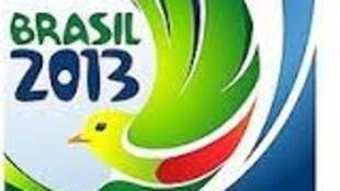 logótipo Copa das Confederações Brasil 2013