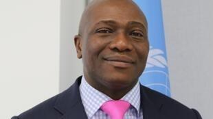 Tosi Mpanu-Mpanu, négociateur en chef de la République démocratique du Congo pour la Convention de l'ONU sur le climat.