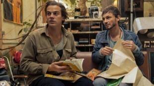 Corto Vaclav et Hadrien La Vapeur, les réalisateurs du documentaire «Kongo», présenté à Cannes dans la catégorie Acid.