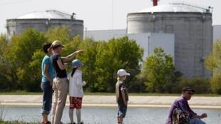 The Fessenheim nuclear power plant